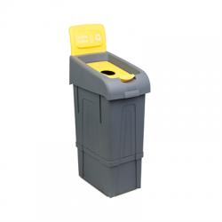 plastová popelnice na plasty 80l