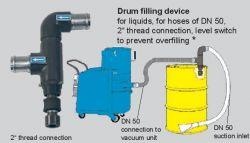 adaptér na sudy pro sání kapalin, DN 50