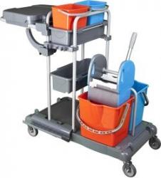 vozík plastový FAVORI, ždímač, bez pytle