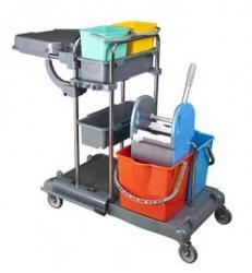 vozík kovový FAVORI, ždímač, bez pytle