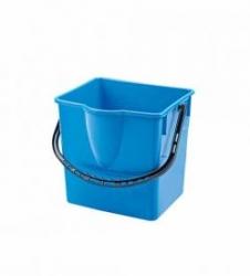 kbelík 18l modrý, červený