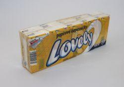 hygienické kapesníčky 3 vrstvé, 10 balíčků/bal., 24 bal./karton