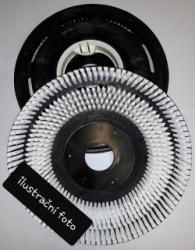 "kartáč SIC 600  12""/300 mm šedý"