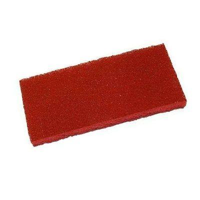 PAD červený obdélníkový 11,4x25,5cm