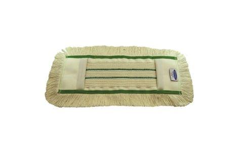 mop bavlněný 40 cm Flipper + kapsa zelený