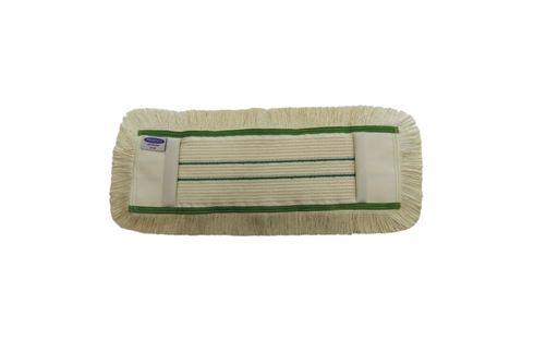 mop bavlněný 50 cm Flipper + kapsa zelený