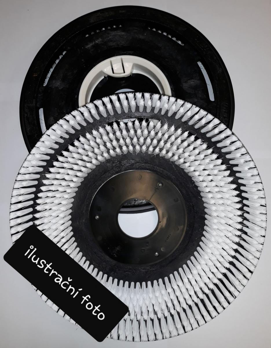 "kartáč SIC 600 šedý  17""/430 mm"