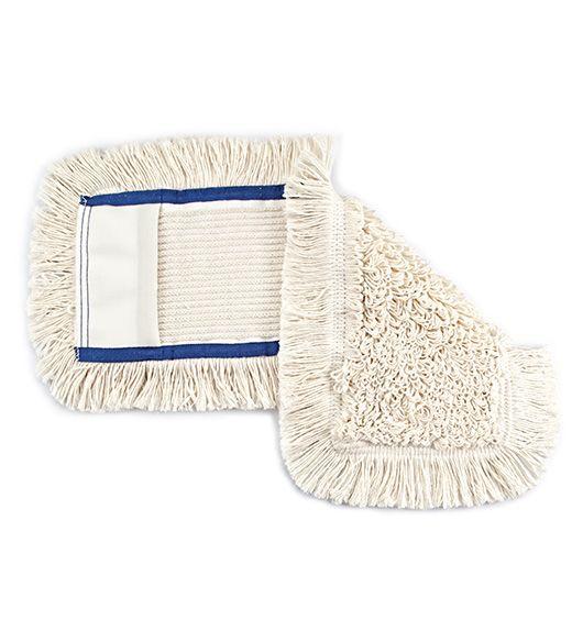 mop bavlněný 40 cm kapsa modrý