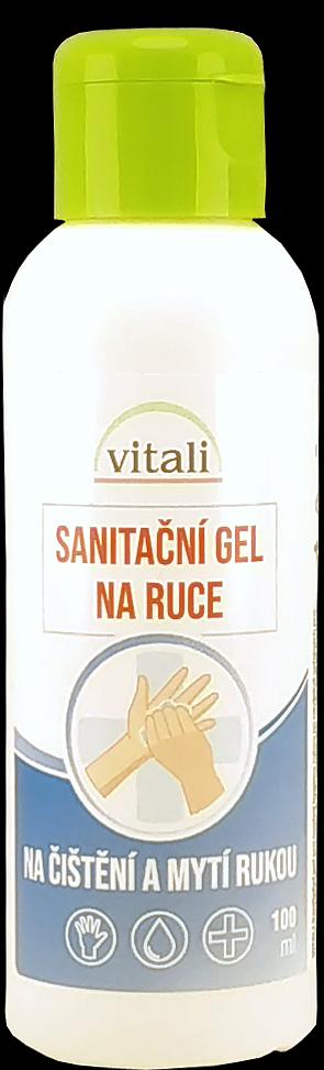 Vitali Sanitační gel na ruce 95ml