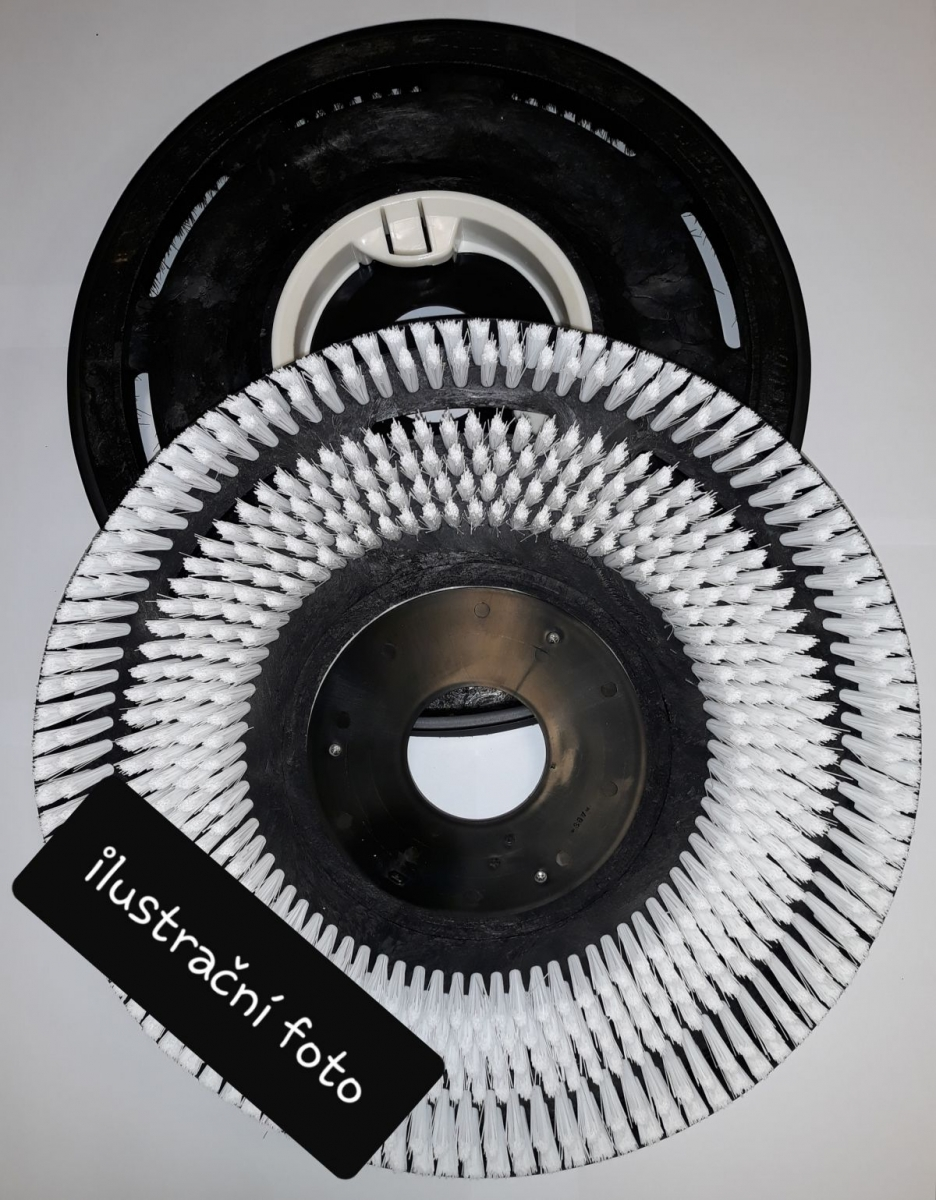 "kartáč SIC 180  12""/300 mm šedý"