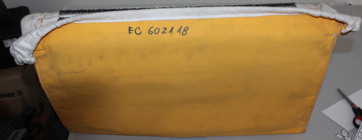 separátor ( 9ks molitanu mezi žebra filtru), pro ECO 34