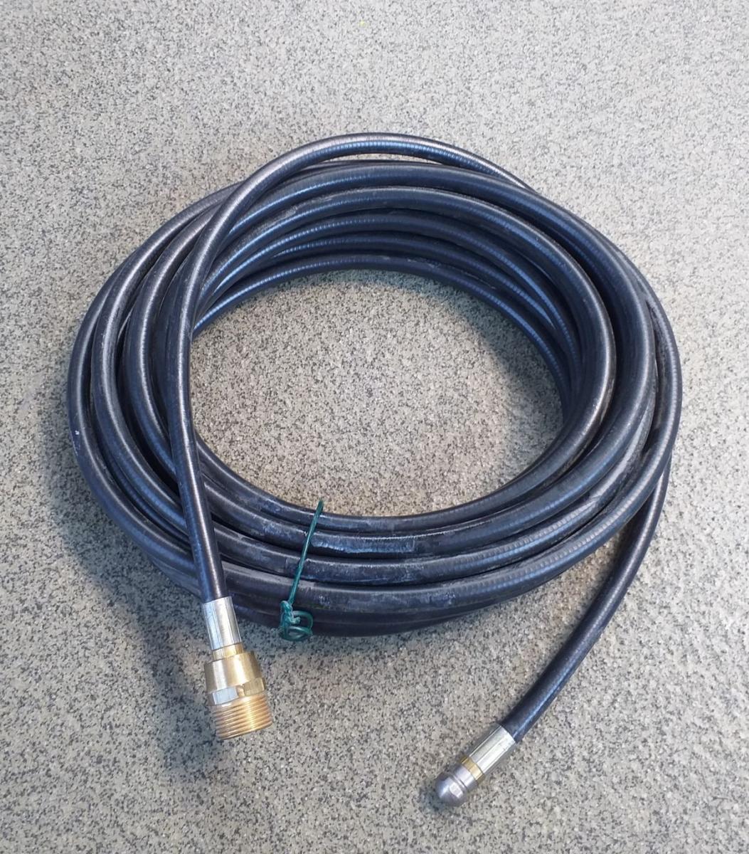 tlak. hadice na čiš. potrubí s kanál. tryskou, 10m, pro Elite, R.P., Univers