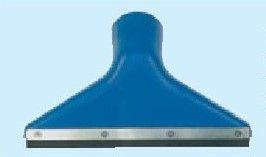 trojúhelníková hubice 7e, zahnutá, slitina hliníku, gumová lišta, 300x28mm, DN60