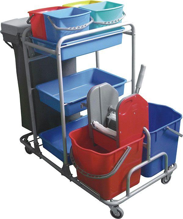 vozík kovový YAKAMOZ, ždímač