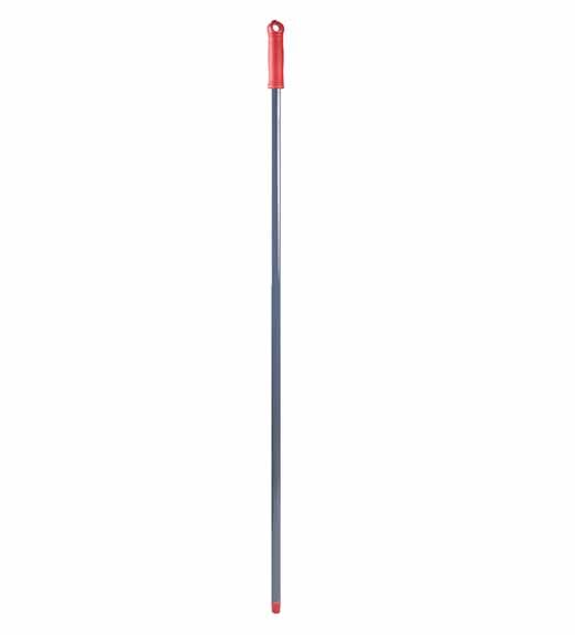 tyč kovová  šedá 130 cm - závit