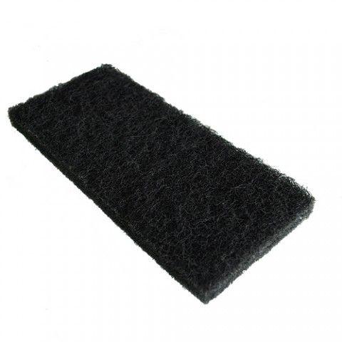 PAD černý obdélníkový 11,4x25,5cm