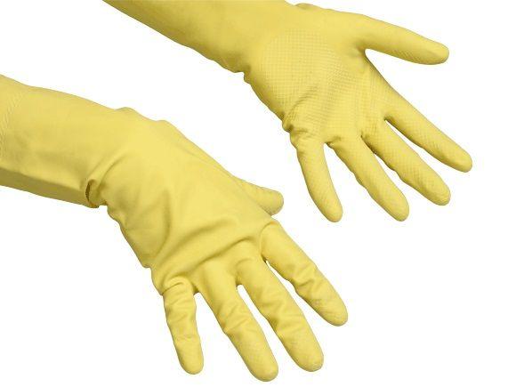 rukavice Contract žluté M