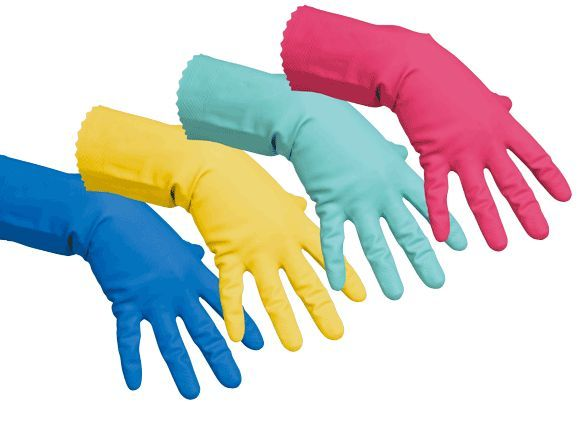 rukavice víceúčelová červená XL