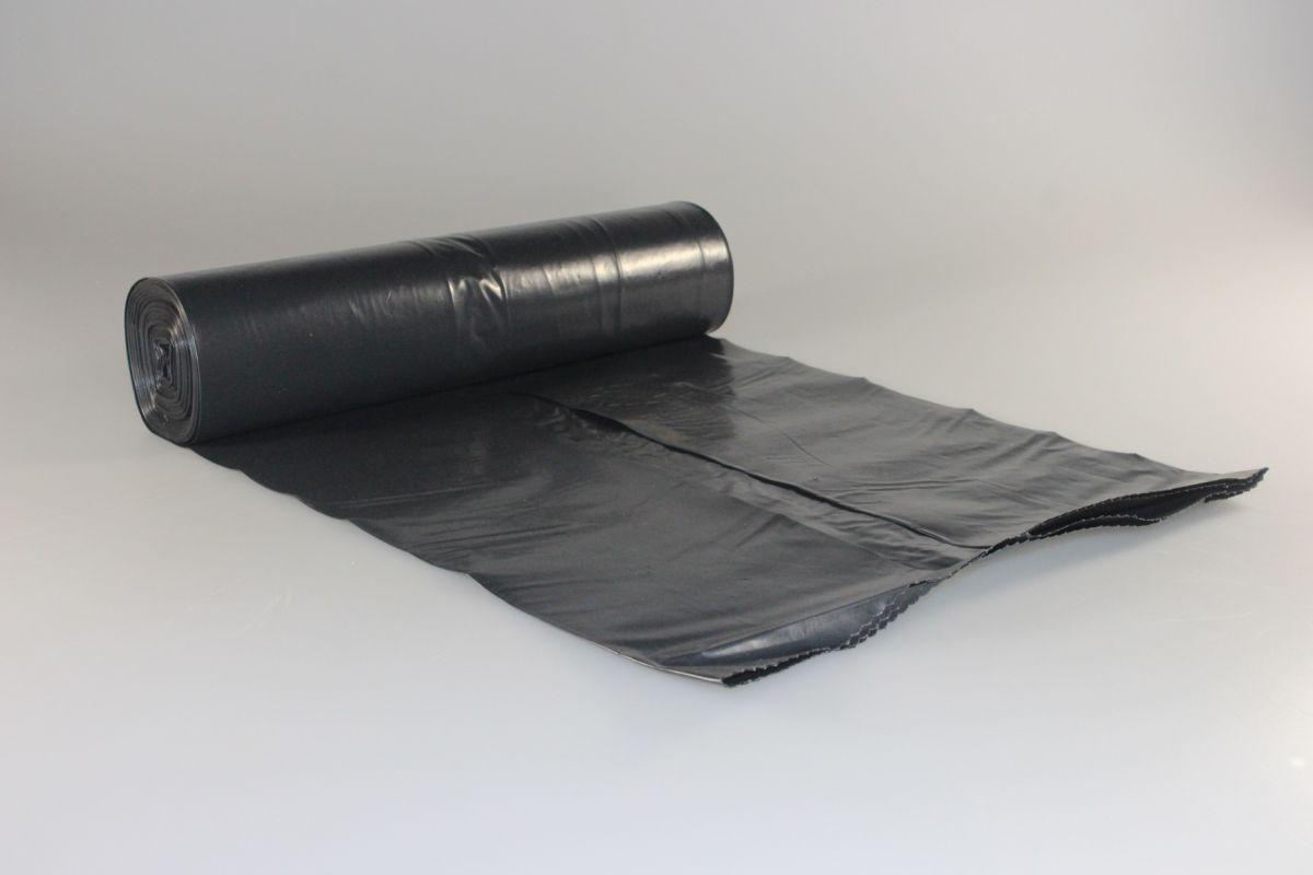 pytel 700x1100 - 120l, 80mi, černý, R, 15ks/rol