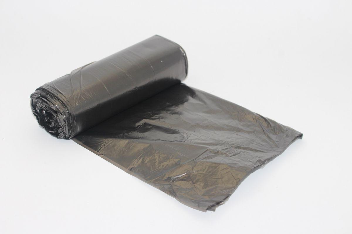 sáček 500x600 - 30l, černý, HDPE/2000 ks, 50ks/rol