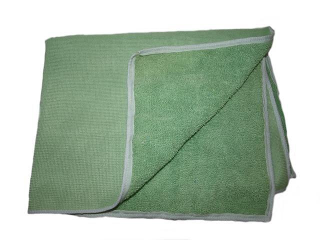 utěrka mikrovlákno 40x40 cm, zelená
