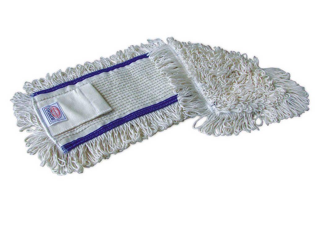 mop Flipper, bílo-modrý, 50 cm