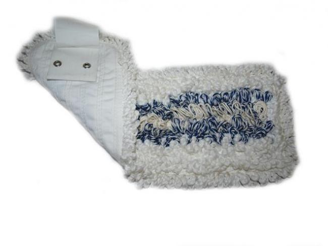 mop kapsový, bílo-modrý, 50 cm