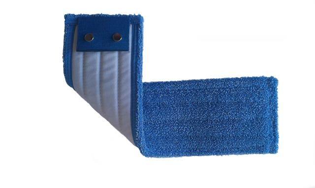 mop mikrovlákno do vlhkosti MCP-3, kapsový, modrý 40 cm
