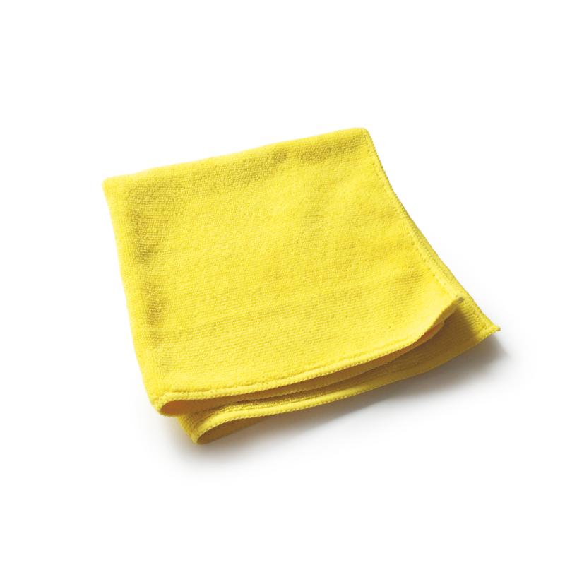 utěrka mikrovlákno, strečová, žlutá, GSM:320, 40x40 cm