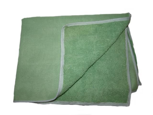 utěrka mikrovlákno, strečová, zelená, GSM:320, 40x40 cm