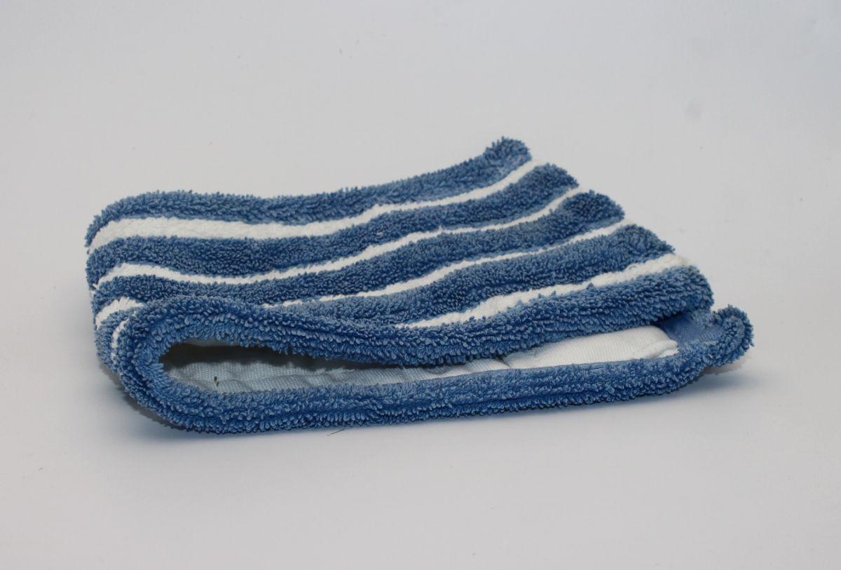 mop Mc Flat Flipper, bílo-modrý, 40 cm