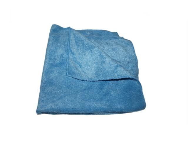 utěrka mikrovlákno, skelná tkanina, modrá, 40x40 cm