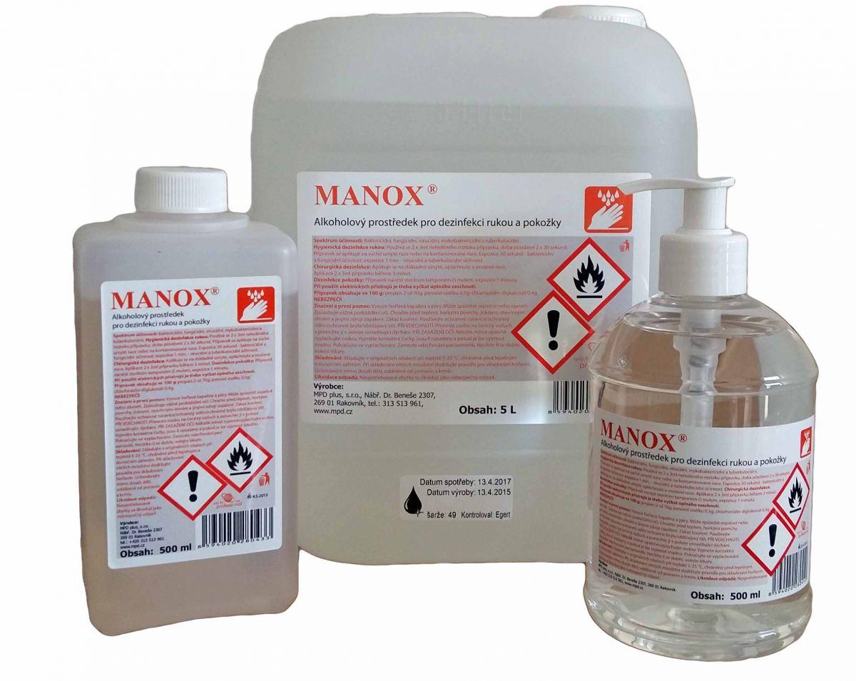 Manox 500ml s dávkovačem