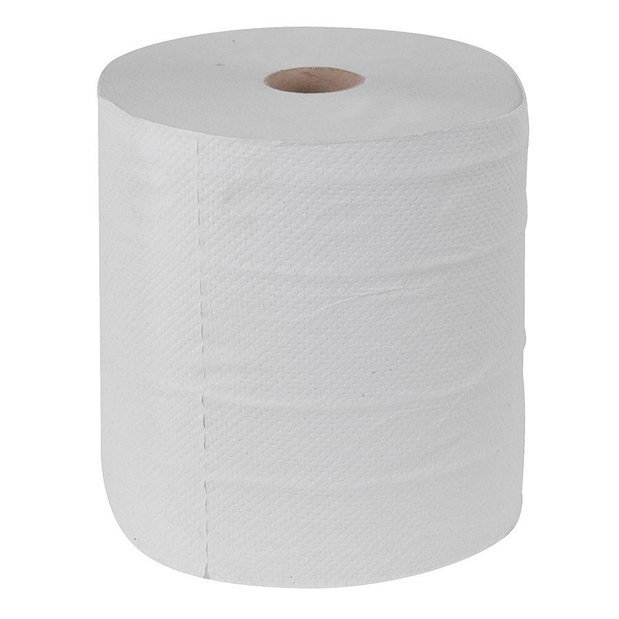 papírové utěrky MAXI, 2 vrstvé, s dutinkou, 6 ks/bal. - střed